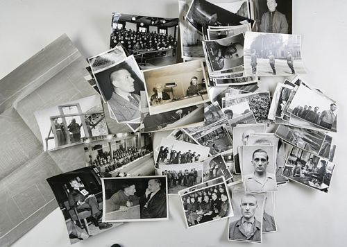 Nuremberg Trials - Archive of Holocaust Photographs relating to the Nuremberg Triials and Holocaust
